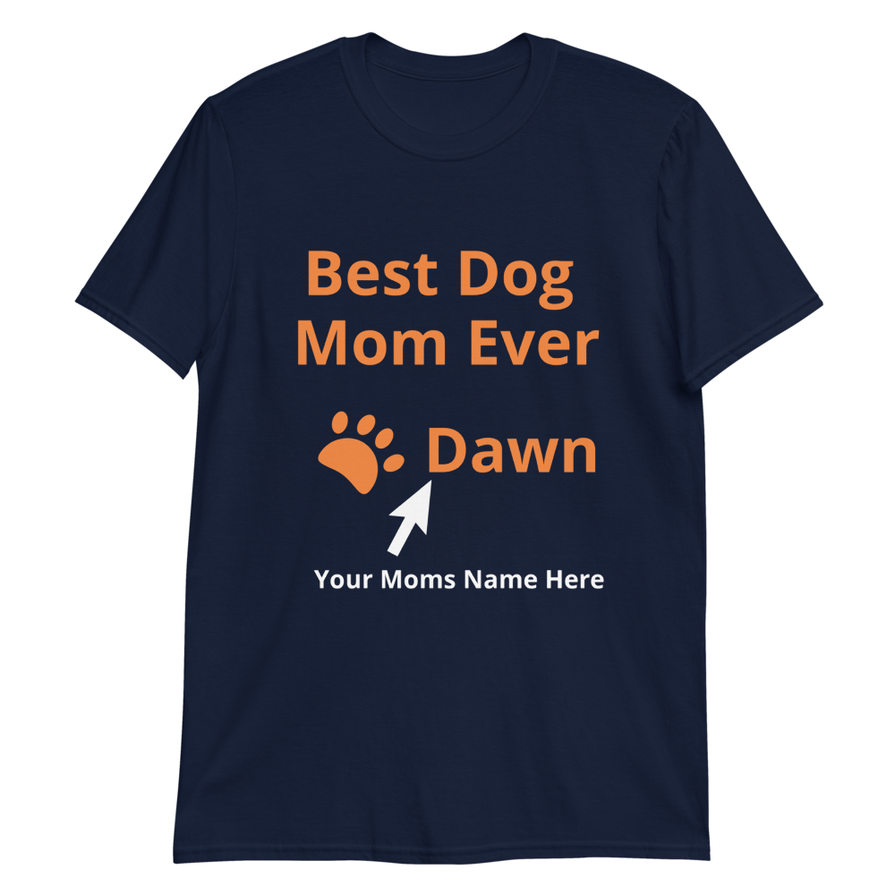 Custom Dog Text T-Shirts Collection